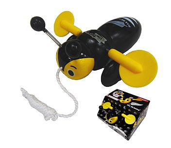 All Blacks Buzzy Bee Pull Along Toy