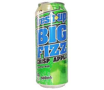 Fresh Up Big Fizz Crisp Apple 500ml