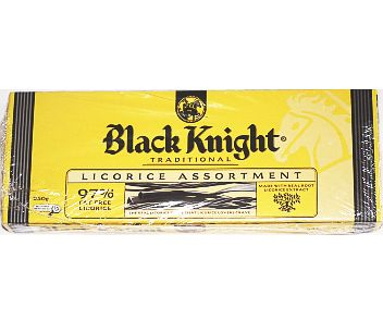 Black Knight Licorice Assortment 250g