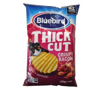 Bluebird Thick Cut Crispy Bacon 150g