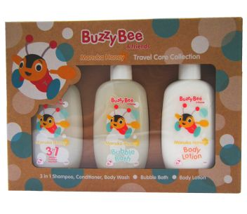 Buzzy Bee Manuka Honey Travel Care Collection