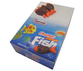 Candyman Orange Fish 168pce