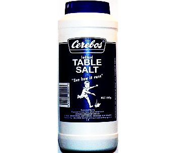 Cerebos Iodised Table Salt 700g