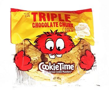 Cookie Time Triple Chocolate 85g