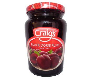 Craigs Black Doris Plum Jam 375g
