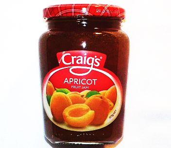 Craigs Apricot Jam 375g