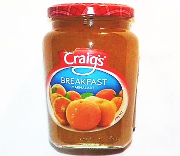 Craigs Breakfast Marmalade 375g