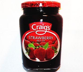 Craigs Strawberry Jam 375g