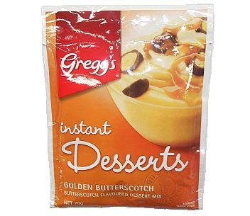 Instant Desserts Golden Butterscotch 70g