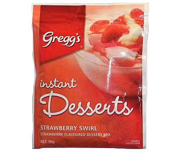Instant Desserts Strawberry Swirl 70g