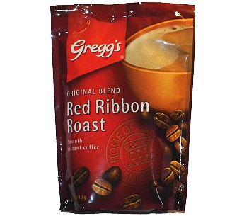 Gregg's Red Ribbon Roast Coffee 100g