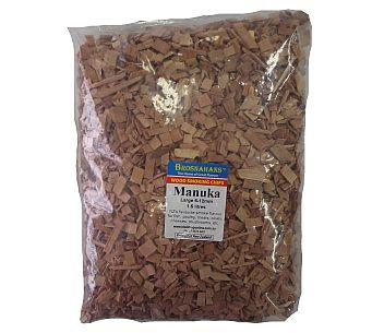Manuka Wood Smoking Chips Large 1.5ltr