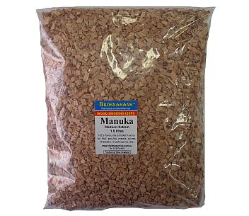 Manuka Wood Smoking Chips Medium 1.5ltr