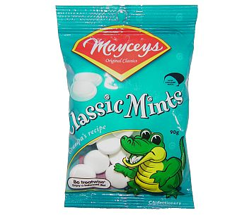Mayceys Classic Mints 90g