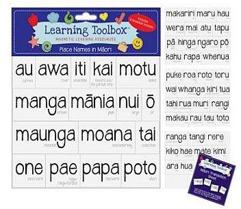 Magnetic NZ Māori Place Names