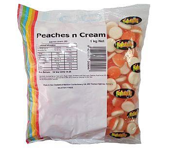 Rainbow Peaches n Cream 1kg