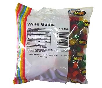 Rainbow Winegums 1kg
