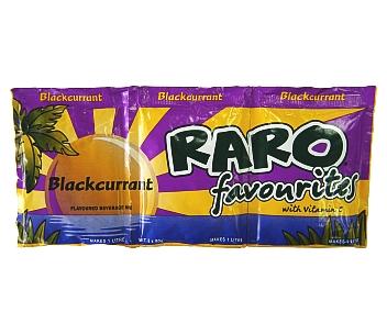 Raro Favourites Blackcurrent 3PK