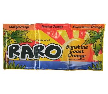 Raro Sunshine Coast Orange 3PK