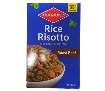 Diamond Rice Risotto Roast Beef 200g