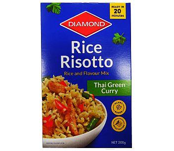 Diamond Rice Risotto Thai Green Curry 200g