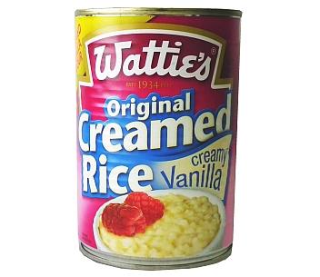 Wattie's Creamed Rice Vanilla 420g