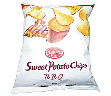 Sunny Hill Sweet Potato Chips BBQ 100g