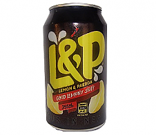 L&P Lemon & Paeroa Can 375ml