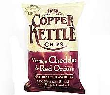 Copper Kettle Vintage Cheddar and Red Onion 150g