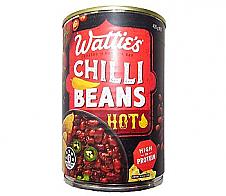 Wattie's Chilli Beans Hot 420g