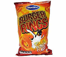 Bluebird Burger Rings 120g