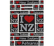 Laser Stickers I Luv NZ