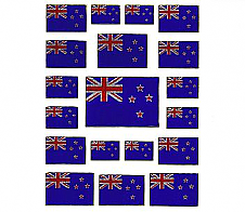 Laser Stickers National Flag