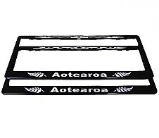 Number Plate Frame Aotearoa 2pk