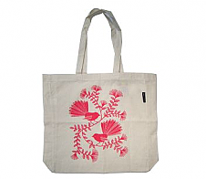 Carry Bag Red Pohutukawa and Fantails