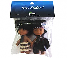Maori Doll Pair 10cm