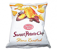 Sunny Hill Sweet Potato Chips Stone Roasted 100g