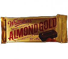 Whittaker's Roasted Almond Gold 45g