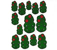 Laser Stickers Tiki