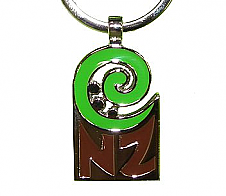 Keyring Koru and NZ