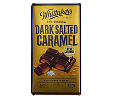 Whittaker's Dark Salted Caramel Block 250g