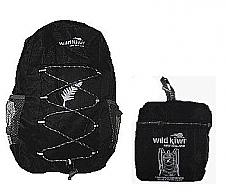 Wild Kiwi Packable Backpack Black