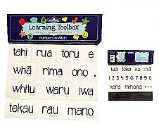 Magnetic NZ Māori Numbers