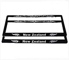 Number Plate Frame New Zealand 2pk