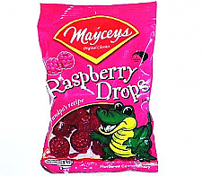 Mayceys Raspberry Drops 100g