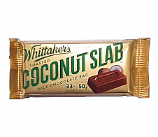 Whittaker's Toasted Coconut Slab 50g