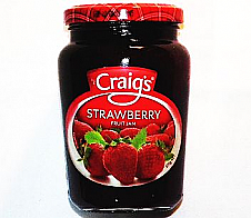 Craigs Strawberry Jam 375g