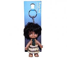 Keyring Maori Doll 9cm