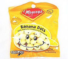 Mayceys Banana Dots 35g