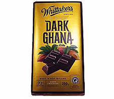 Whittaker's Dark Ghana Chocolate Block 250g